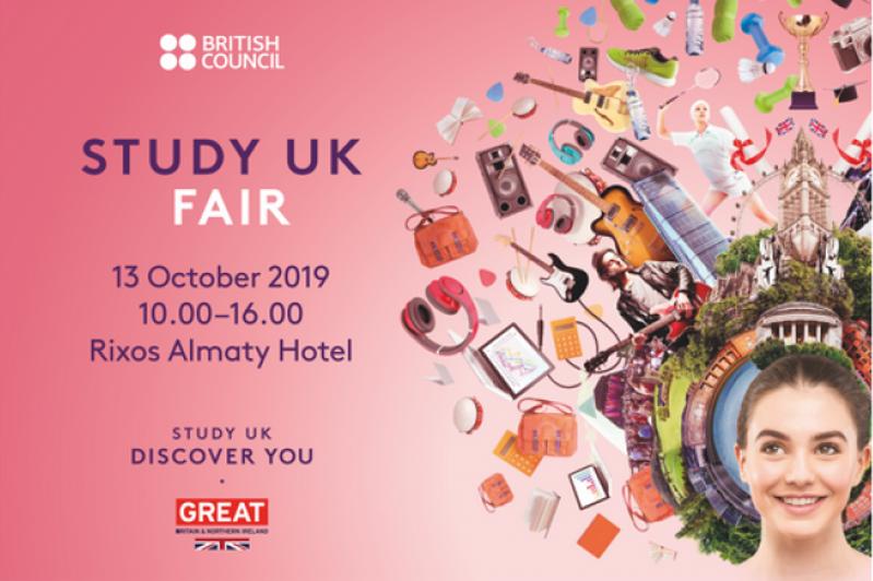 Study UK 2019 in Almaty