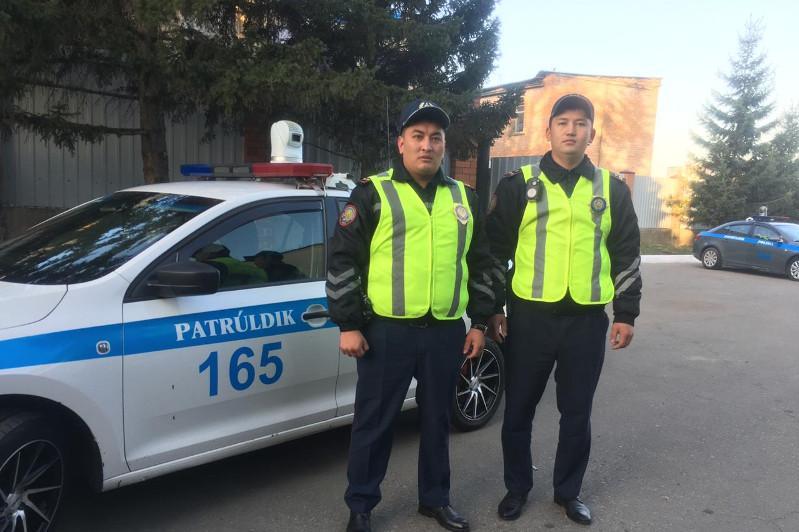 Дорожный патруль организовал «зеленый коридор» для роженицы в Усть-Каменогорске