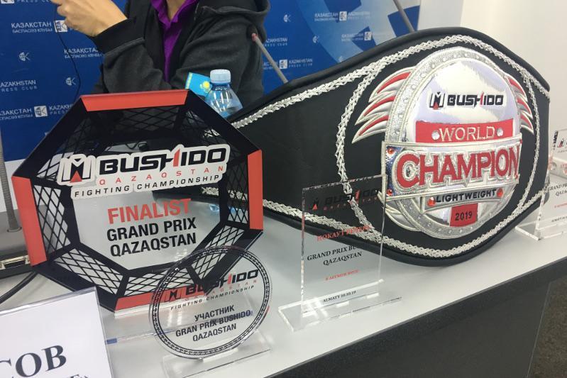 В Алматы пройдёт турнир по MMA «Bushido FC»