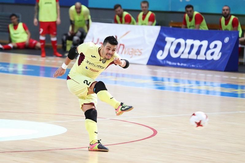 Футзальный «Кайрат» проиграл во втором матче Лиги чемпионов