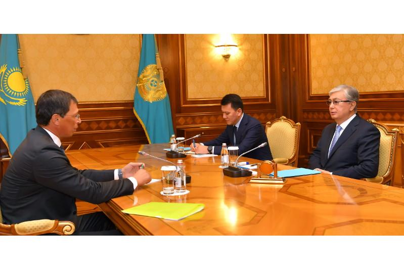 Kassym-Jomart Tokayev meets members of National Public Confidence Council