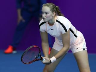 林茨网球公开赛:哈萨克斯坦选手热巴金娜晋级四分之一决赛