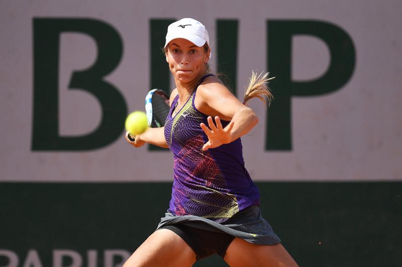 Казахстанка Юлия Путинцева вышла в третий круг теннисного турнира серии WTA