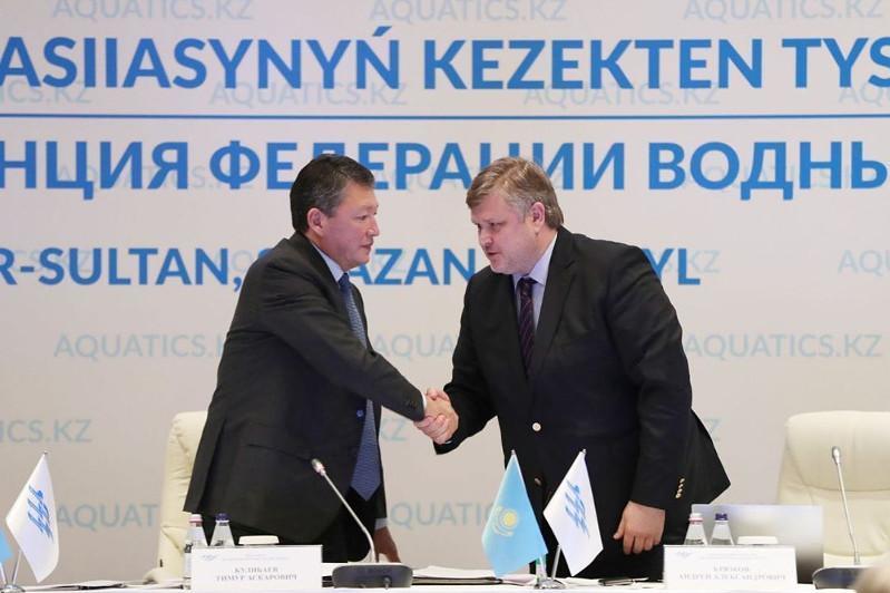 科里尤克夫当选哈萨克斯坦水上运动联合会主席