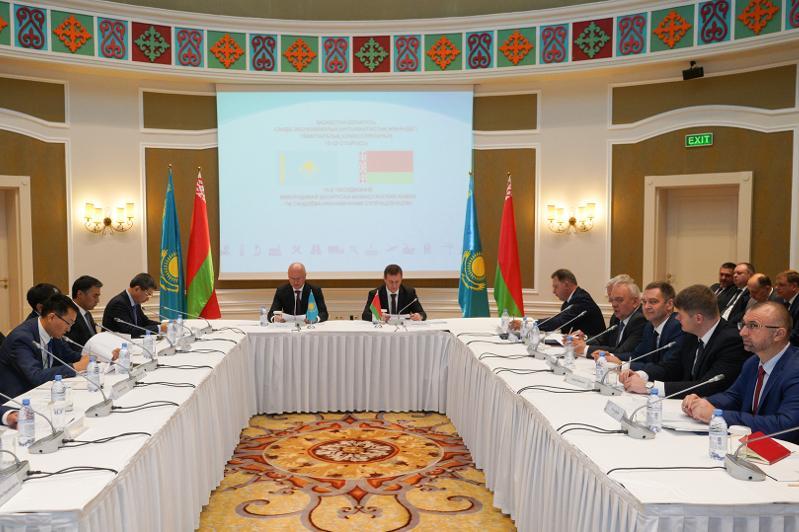 Роман Скляр принял участие в заседании Межправительственной казахстанско-белорусской комиссии