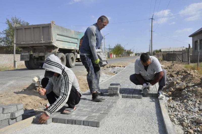 «Aýyl el besigi»: Túrkistan oblysynda joldar jóndele bastady