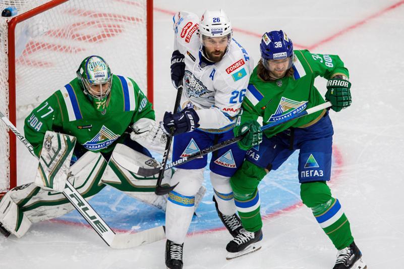 KHL: Barys defeats Salavat Yulaev in away match