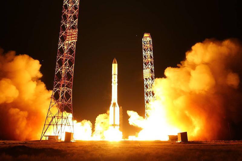 Satellites launched atop Russia's Proton-M rocket put into designated orbits