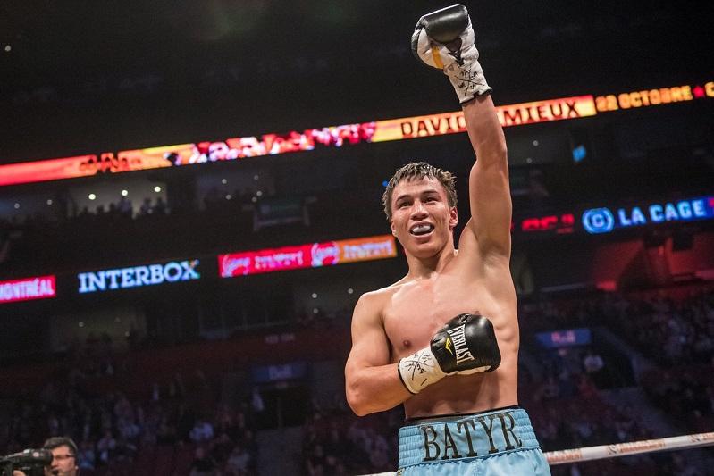 朱肯巴耶夫入选国际拳击联合会排行榜TOP15