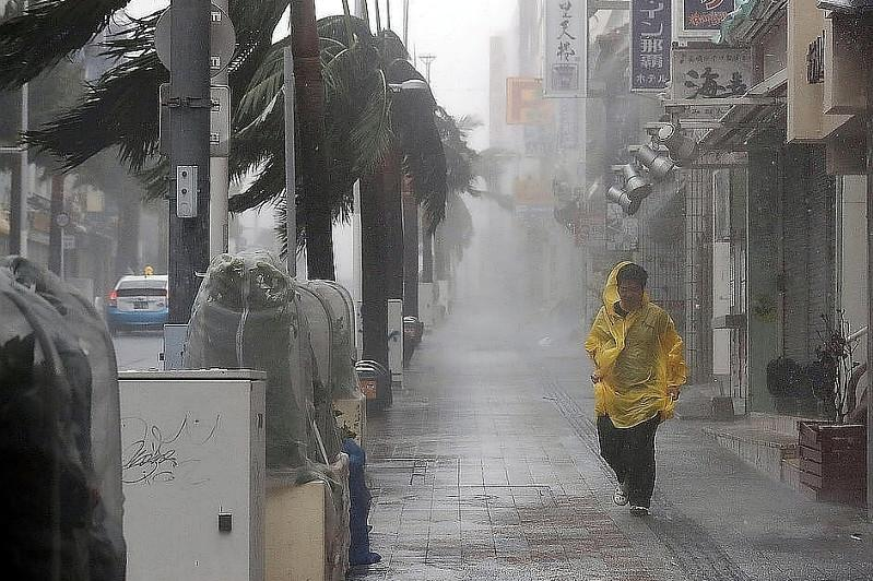Typhoon threatens to disrupt public transport in Japan over weekend