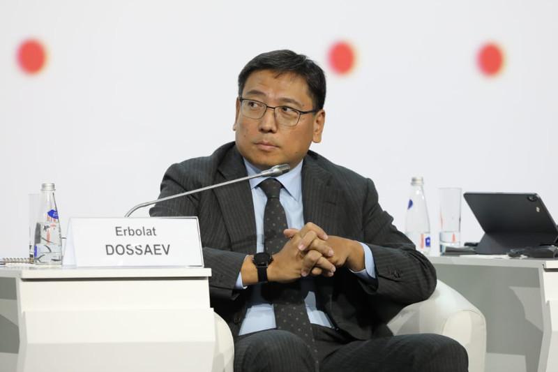 Ерболат Досаев выступил на Форуме инновационных финансовых технологий