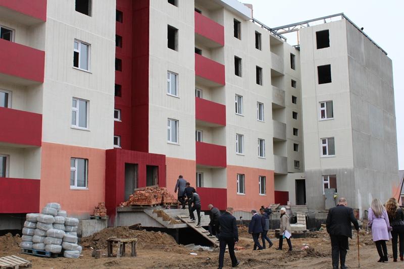 Больше двух лет строят пятиэтажку в Петропавловске