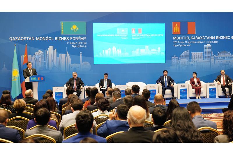 Қазақстан-Моңғолия бизнес форумы өтті