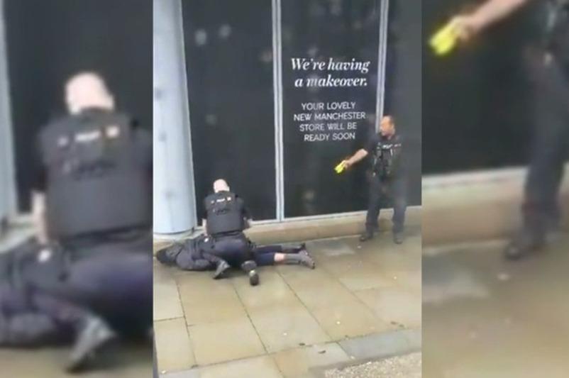 英国一购物中心发生持刀袭击事件致4人伤