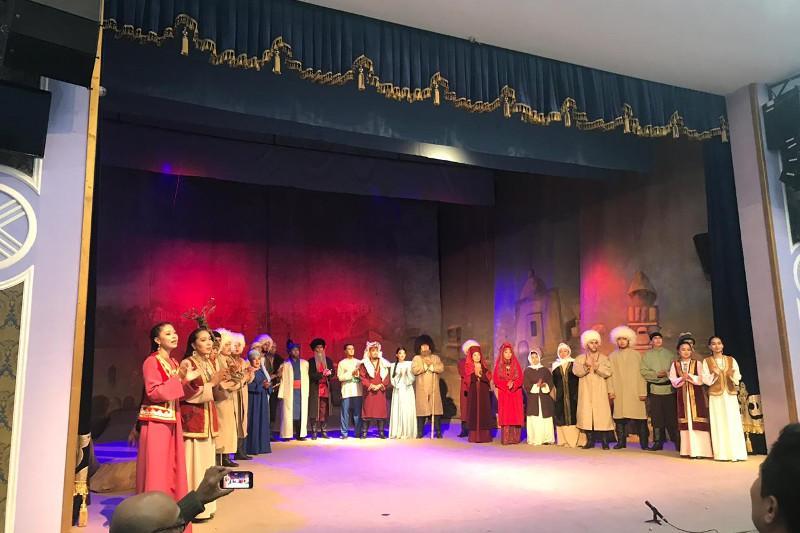 «Әбіш әлемі» театр фестивалі «Күй» туындысымен ашылды