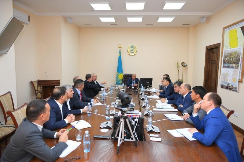 以色列投资商有意向突厥斯坦州农业项目投资