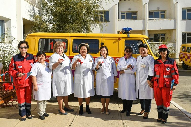 36 санитарных автомашин получили медучреждения Кызылординской области