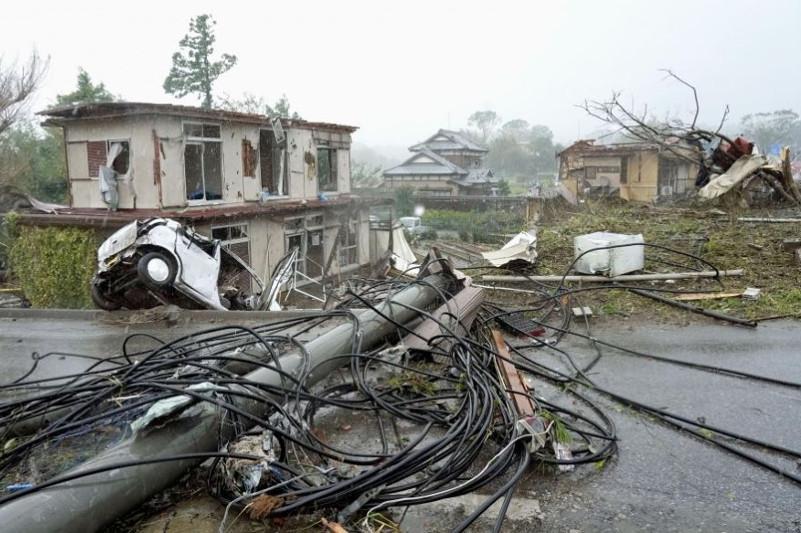 超强台风逼近 日本进入高度戒备状态