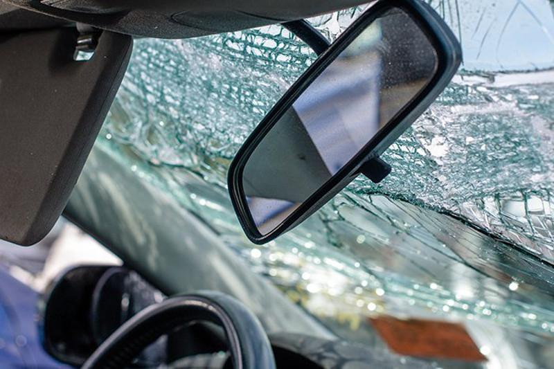 Road accident involving KAMAZ killed man