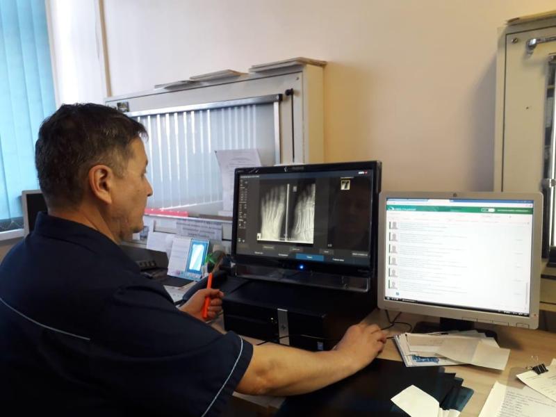 Оцифровщик рентгеновских снимков появился в детской больнице в Кокшетау