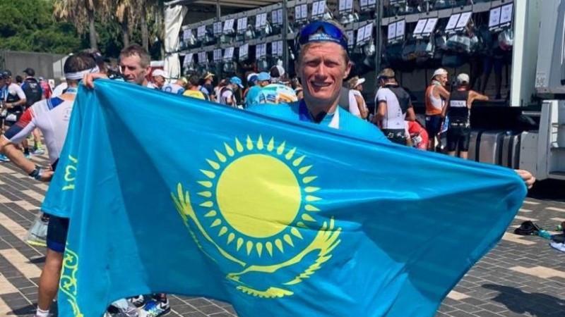 Александр Винокуров одержал победу на чемпионате мира Ironman