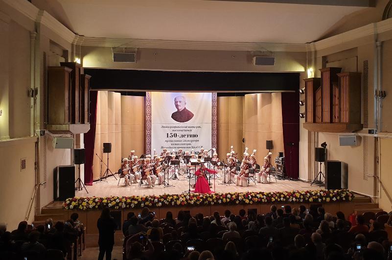 Посвященный 150-летию Александра Затаевича этнографический концерт прошел в Москве
