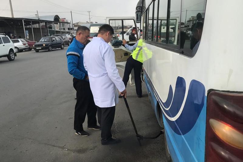 В Жамбылской области усиливается борьба против загрязнения воздуха автотранспортом