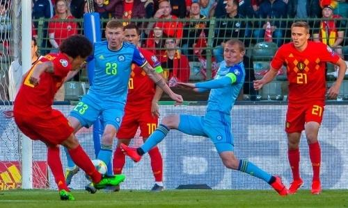 Сборные Казахстана и Бельгии назвали стартовые составы на матч отбора ЕВРО-2020