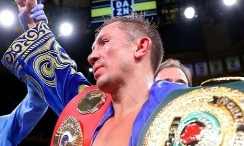 Головкин забронировал арену на титульный бой в уникальную дату