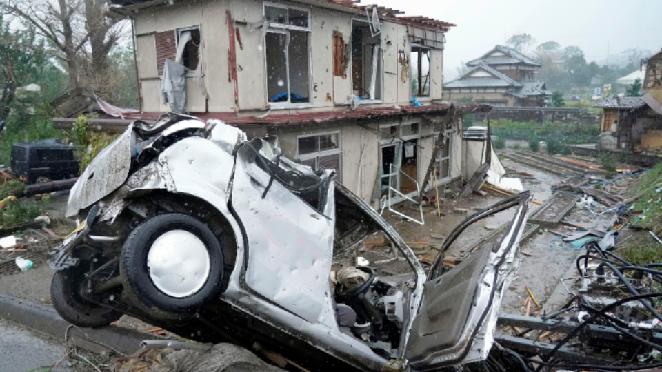 Japan ramps up rescue efforts as typhoon leaves more than 30 dead