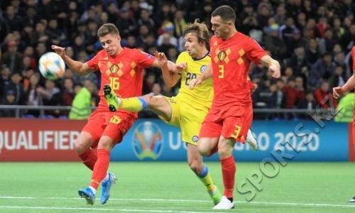 Euro 2020 Qualifiers: Kazakh team lost to footballers of Belgium