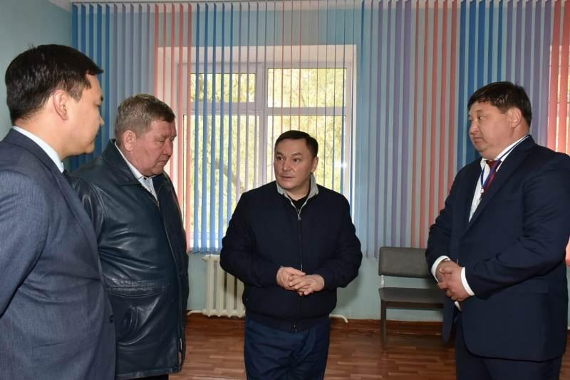 Аким Акмолинской области посетил Атбасарский район