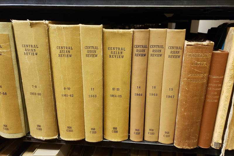 British intelligence officer's book about Kazakhs kept in library of Columbia University