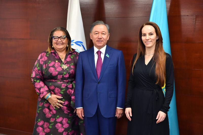 Нурлан Нигматулин провел переговоры с председателем Межпарламентского союза