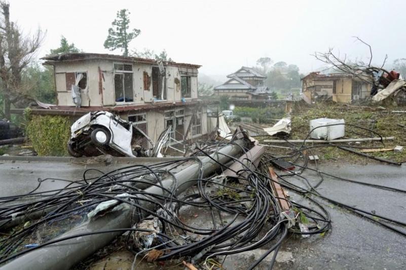日本:台风海贝思致死人数增至39人
