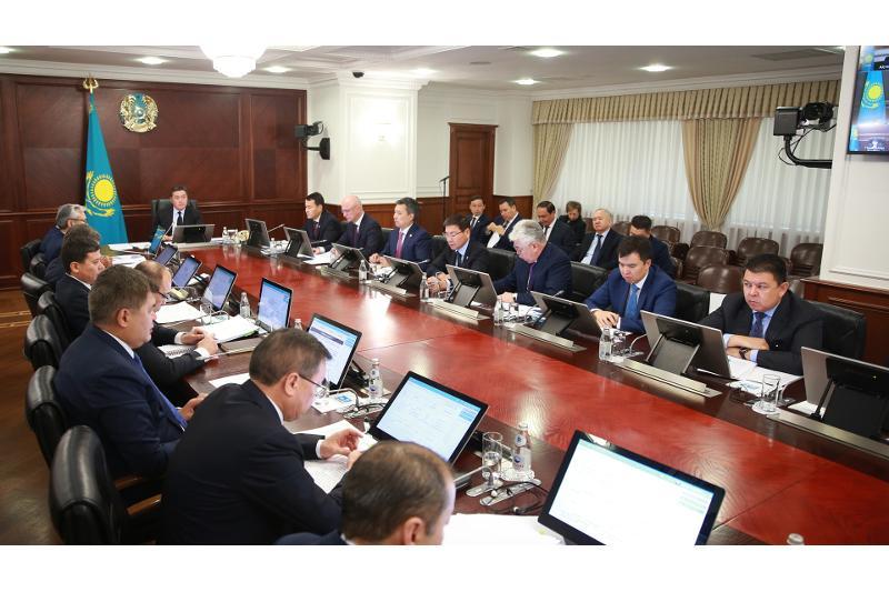 总理阿斯哈尔·马明召开政府工作会议