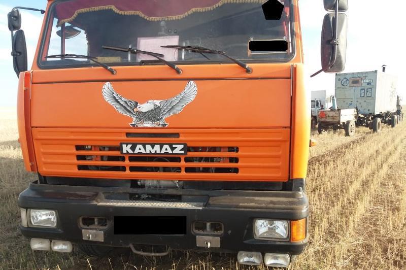 Крупную партию зерна похитили в Акмолинской области
