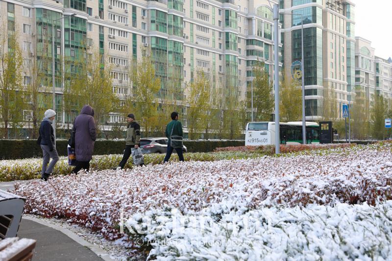 Снег обещают североказахстанцам синоптики
