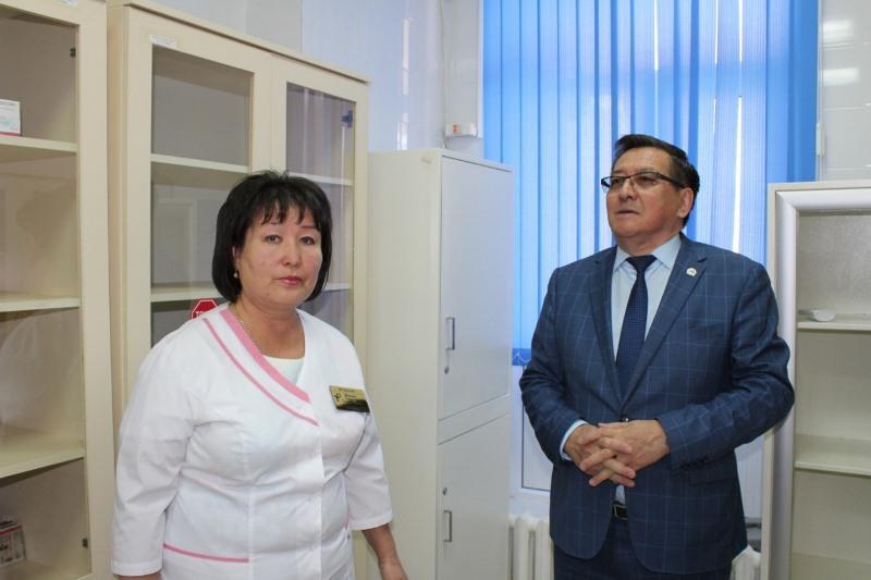 Новая врачебная амбулатория открылась в Туркестанской области