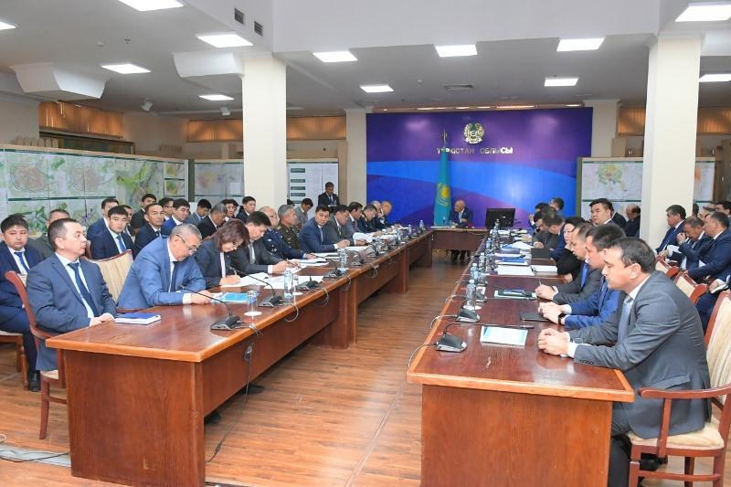 Восстановление Арыси обсудили в акимате Туркестанской области