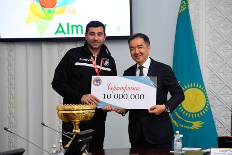 Алматының «Буревестник» волейбол клубы Қазақстан Кубогын жеңіп алды