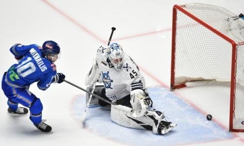 «Барыс» проиграл третий подряд матч «Адмиралу» в сезоне КХЛ