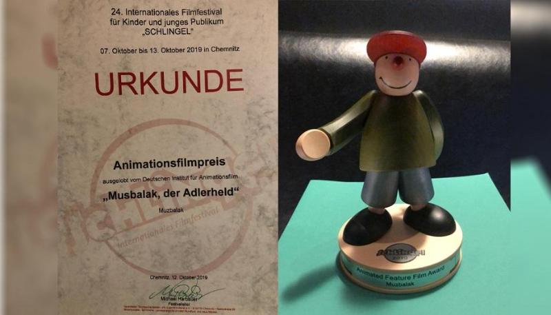 Впечатляющая работа 2D-анимации – «Музбалак» назван лучшим мультфильмом на фестивале в Германии