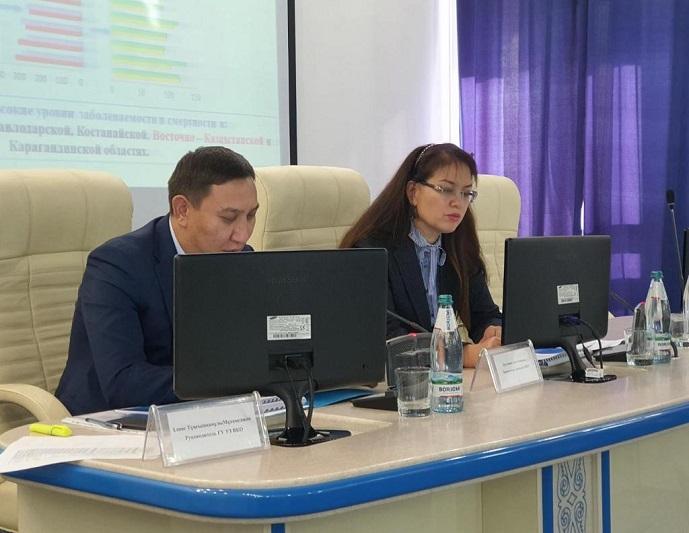 Вопросы профилактики онкозаболеваний обсудили в Усть-Каменогорске