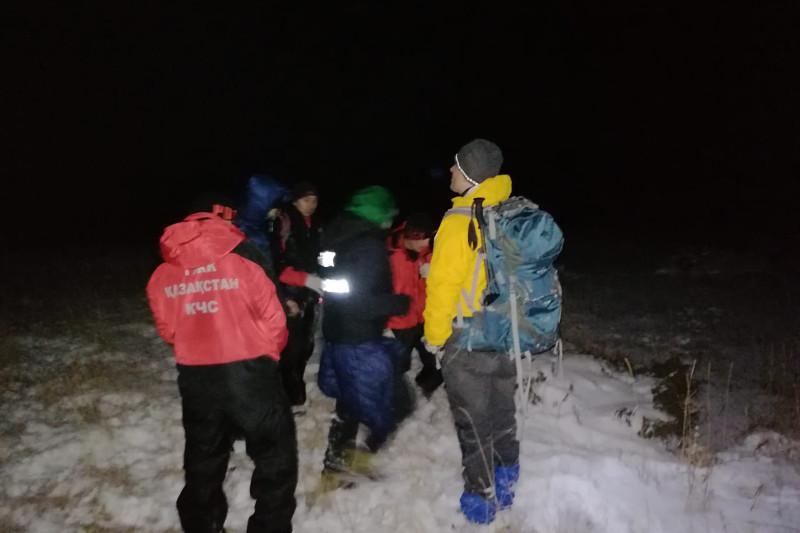 Спасатели дважды отправлялись в горы Заилийского Алатау на помощь пострадавшим