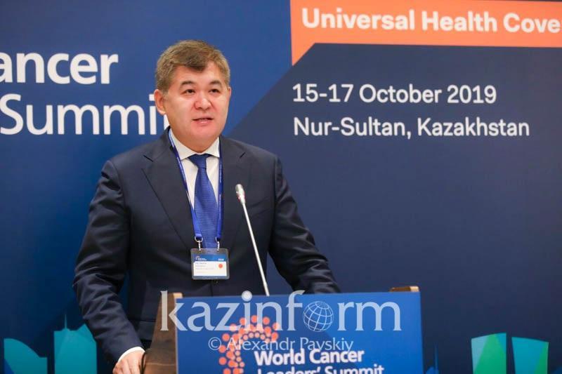 Елжан Биртанов: Крайне важно увеличить финансирование борьбы с раком на уровне ПМСП