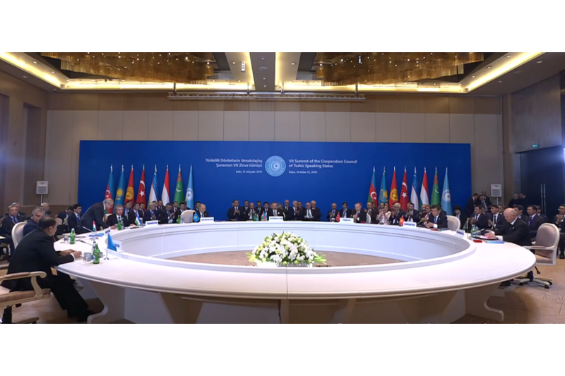 7th Turkic Council Summit kicks off in Baku