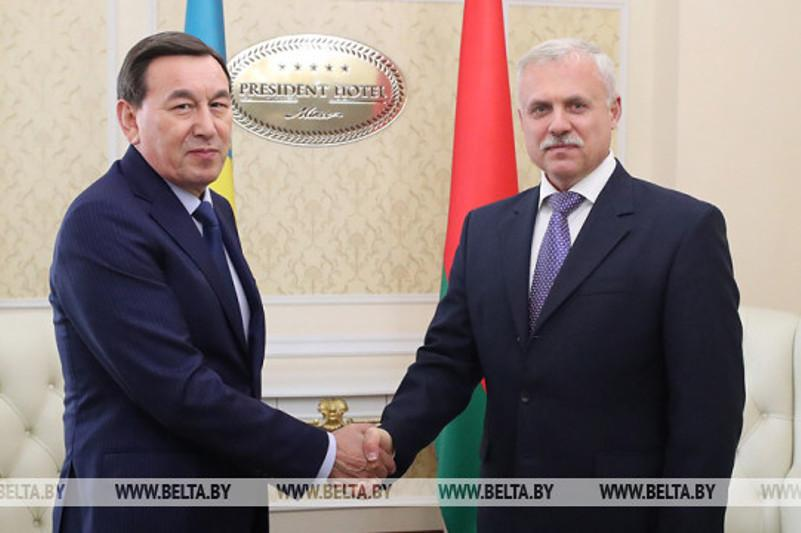Belarus, Kazakhstan share best practices in security cooperation with international organizations