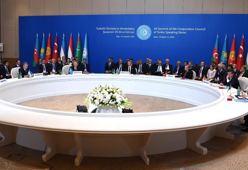 纳扎尔巴耶夫出席第七届突厥议会峰会
