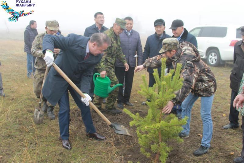 В Улытау отпраздновали 80-летие района и 140-летие Тайжана Калмагамбетова